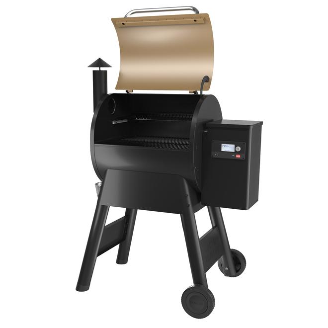 Traeger Pellet Grill Pro 575 Pellet Grill 6-in-1 - 572 cu.in. 41-in - Bronze and Black