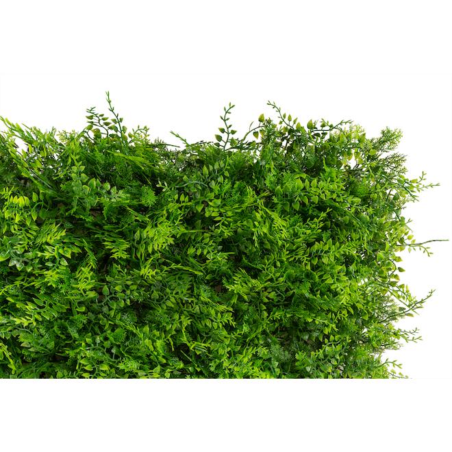 Nature Decor Fern Leaf Panel - Polyethylene 40-in x 40-in x 1.5-in - Green