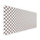 Treills extensible, Naturae Decor, PVC 36 po x 72 po brun