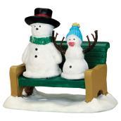 Snowdad & Snowbaby - Village Figures