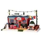 Happy Camper Lighted Christmas Figurine
