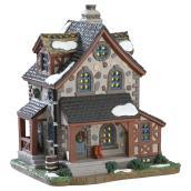 Illuminated Cottage - 17 cm x 14.5 cm x 12.7 cm