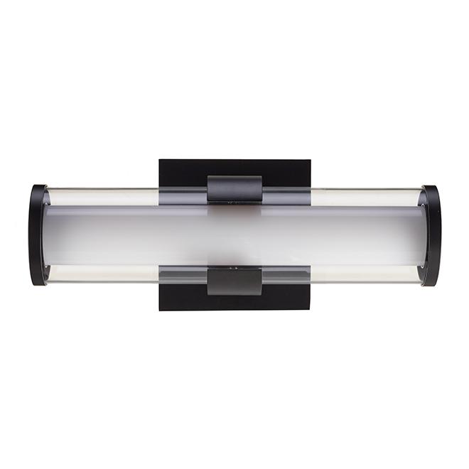 Vanity Light Bathroom Fixture - LED - 13'' x 5'' - Black 34146-LWC