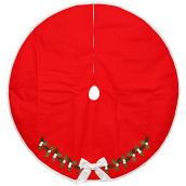 Tree Skirt with Applique - 48
