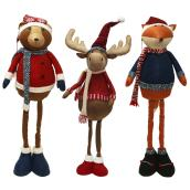 "Height-Adjustable Plush Figures - 28"" - Assorted"
