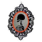Holiday Living 33-in Hanging Skeleton Mirror