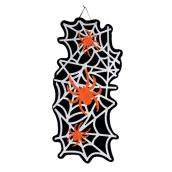 Holiday Living 30-in Halloween Spider Web Hanging Wall Decor