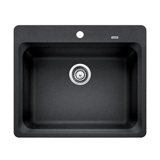 """""""Silgranit Vision 1"""" Kitchen Sink - Anthracite"""