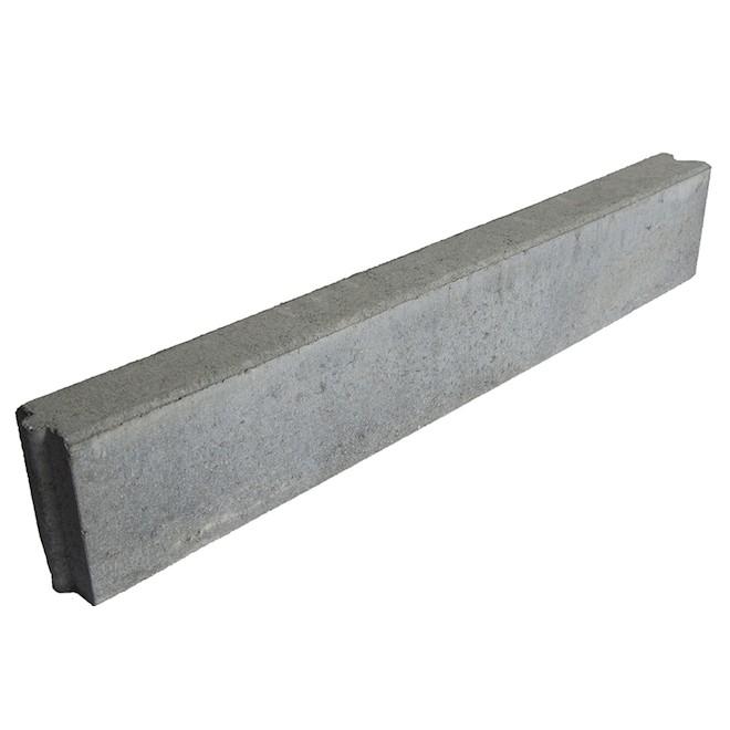"""""""Bordt"""" Concrete Landscaping Edger - 3"""" x 6"""" x 3'"""