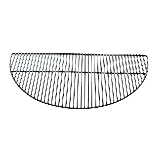 Patio Drummond 4-Hook Cooking Grill for Round BBQ - Steel - 24-in - Black