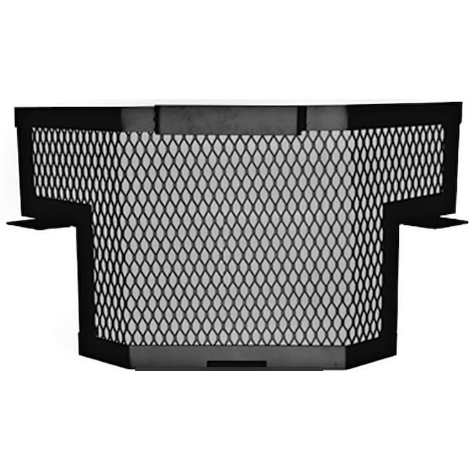 Patio Drummond Fireguard Extension 8 3/4-in x 24.5-in x 13 1/4-in Black