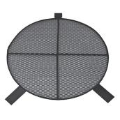 Patio Drummond Round BBQ Cooking Grill 29-in Black