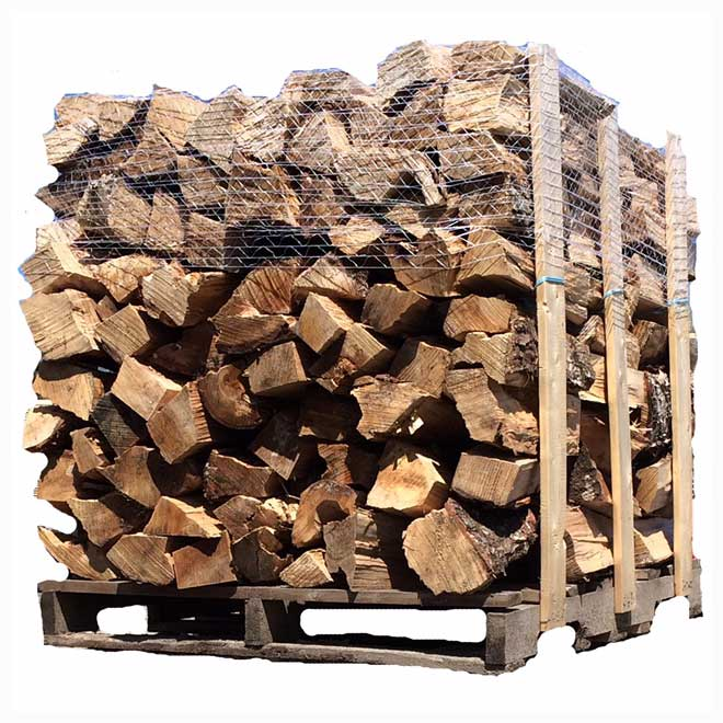 Bois de foyer, bois franc, 42 pi³