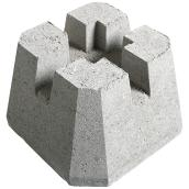 4-Way Deck Block - 4