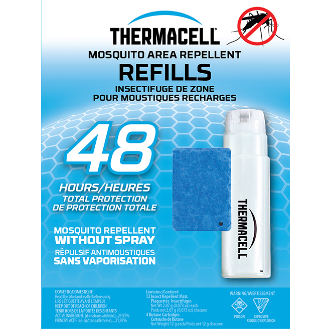 Thermacell Mosquito Repellent Refills - 48 hours