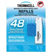 Recharges d'insectifuge anti-moustique Thermacell, 48 heures