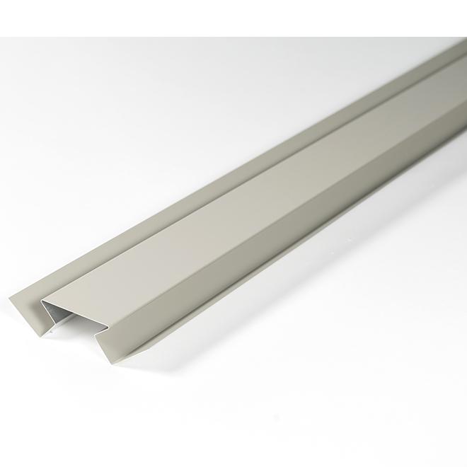 Moulure de coin intérieur en aluminium, 10', acadia