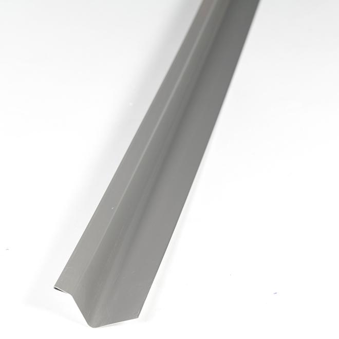 CANEXEL Aluminum Exterior Drip Cap -10' - Granite PQDCGR | RONA