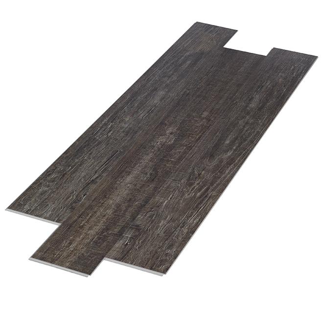 """Vinyl Floor Tiles with Pads - 6"""" x 48"""" - 8/Box"""