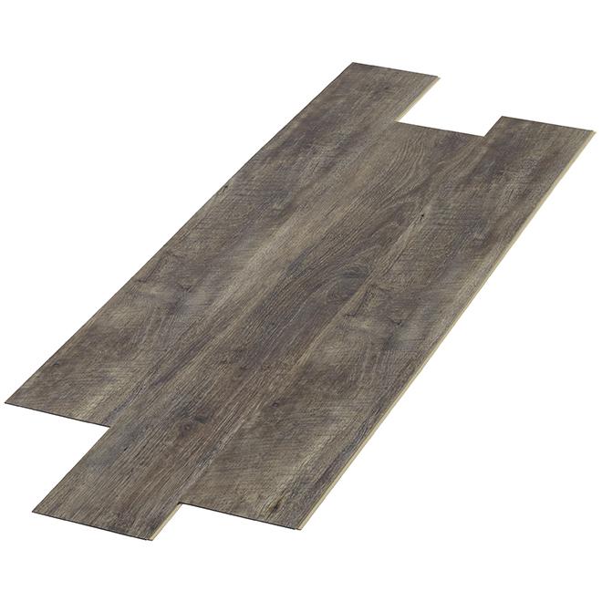 Plancher de vinyle, 7 mm, 19,7 pi², « Tamerack »