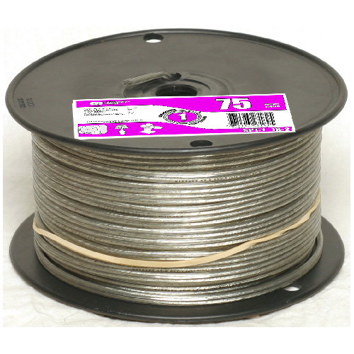 Lamp Electrical Wire - SPT-1 - 18-2 - 75 m - Silver