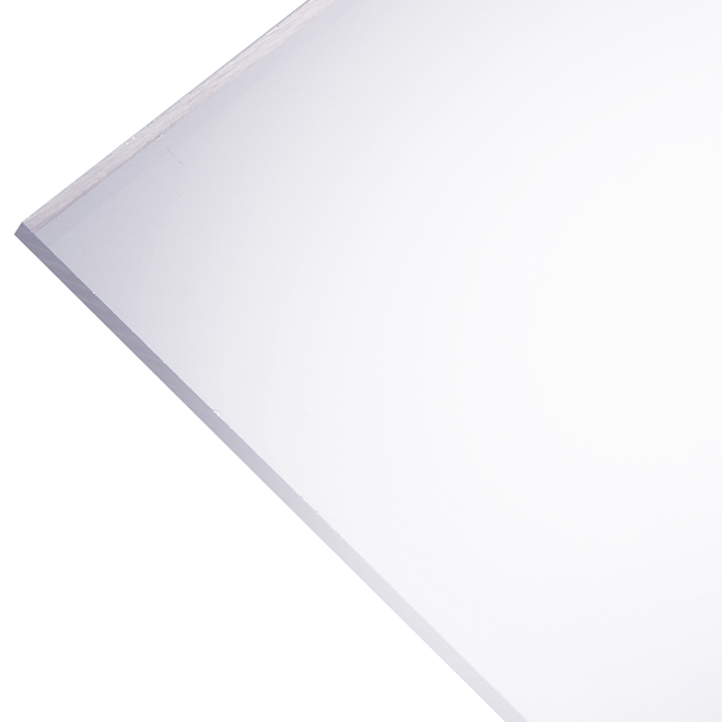"Optix 2,5 mm Acrylic Panel - 24"" x 48"" - Clear"