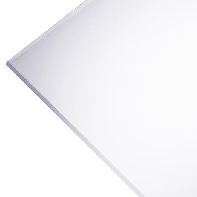 "Optix 2,5 mm Acrylic Panel - 30"" x 36"" - Clear"