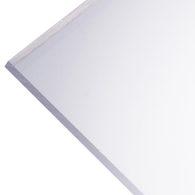 "Optix 4,5 mm Acrylic Panel - 32"" x 44"" - Clear"