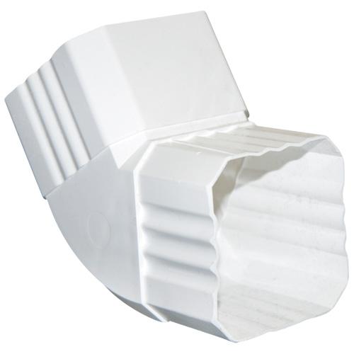 Coude carré pour gouttière « K-Snap »