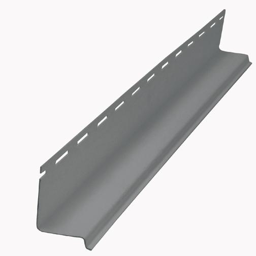 Vinyl Drip Cap Trim - Flagstone