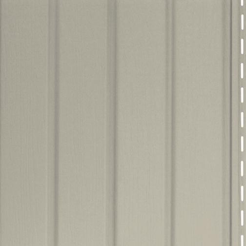 Rev tement ext rieur vertical vinyle 10 39 x 10 mocha rona for Revetement exterieur rona