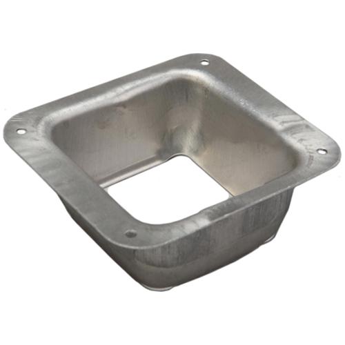 Descente de renvoi « B » carré en aluminium