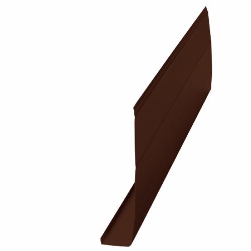 Kaycan Aluminium Fascia Moulding 6 Quot Chocolate Brown
