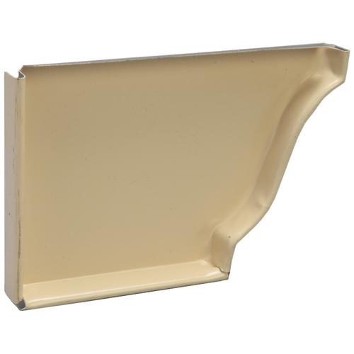 """Couvercle droit en aluminium, 5"""", ivoire"""