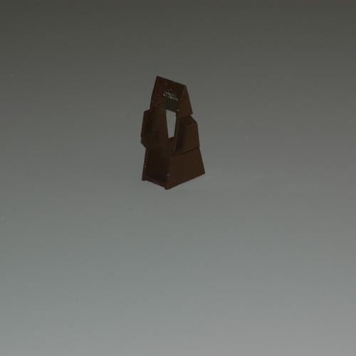 Cale pour gouttière demi-ronde en vinyle « Classic » , brun