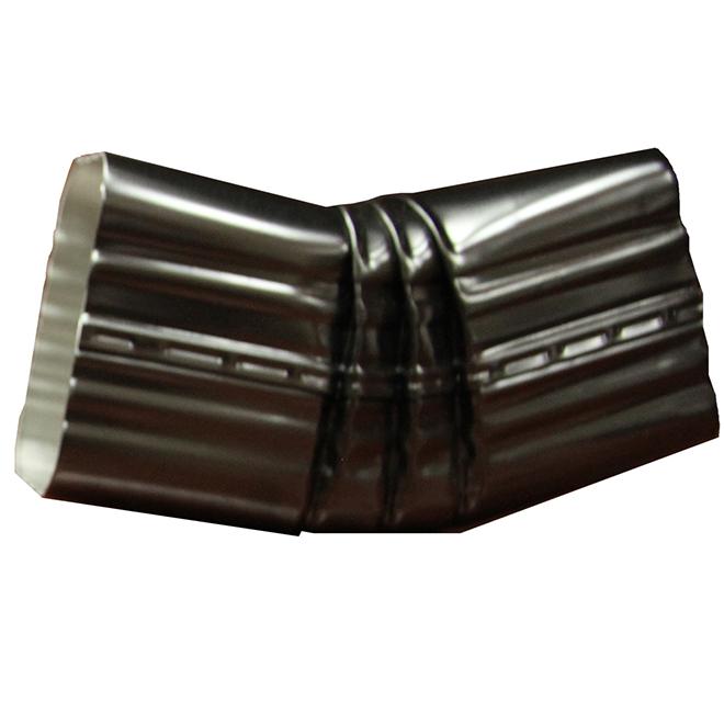 """Aluminum ''B'' 30° Elbow - 2'' x 3"""" - Black"""