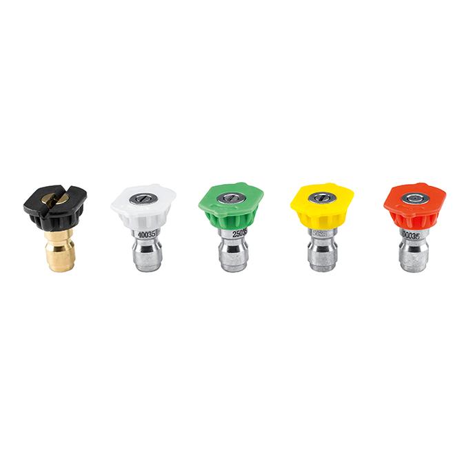 Nozzle Set -  0°,15°, 25°,40° + Detergent Nozzle