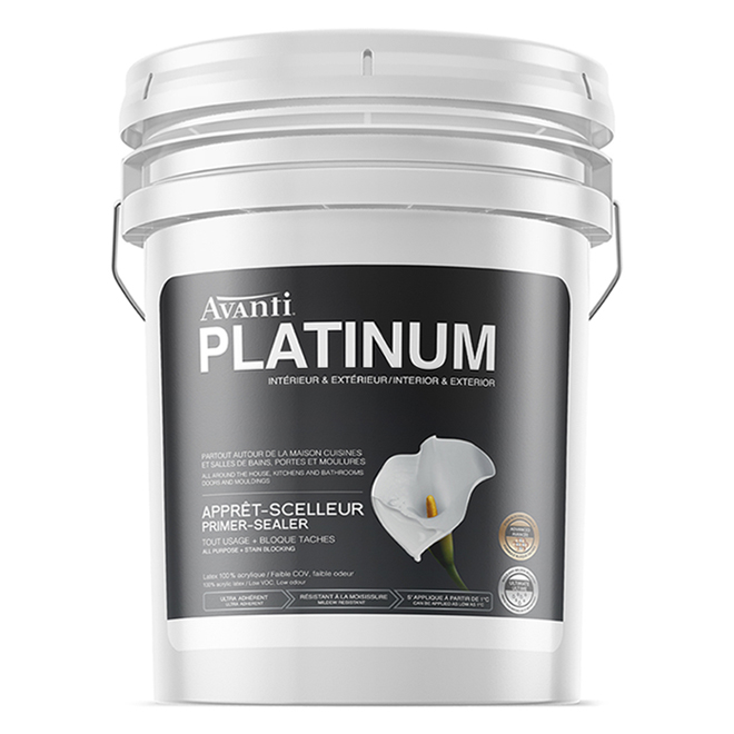 Avanti Platinum Latex Primer-Sealer - 18.9 L - White