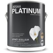 Apprêt-scelleur au latex Avanti Platinum, 3,78 l, blanc