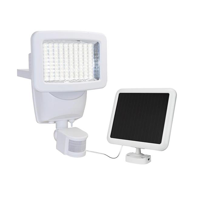 Détecteur de mouvement solaire Sunforce, DEL, blanc