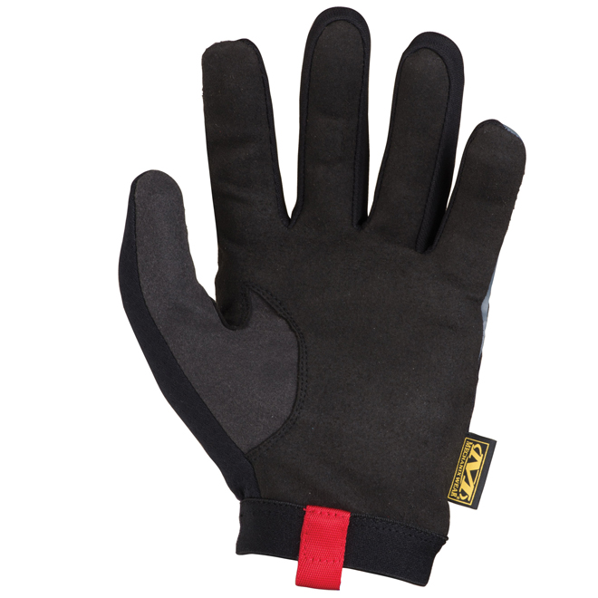 Utility Work Gloves - Synthetic Leather - X-Large - Black