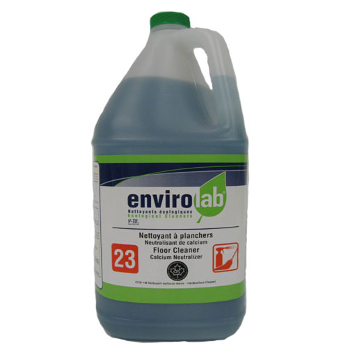 Nettoyant à plancher pour taches de calcium EnviroLab, biodégradable, écoresponsable, 4 L