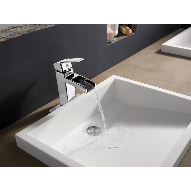"""Kamato"" Lavatory Faucet - Polished Chrome"