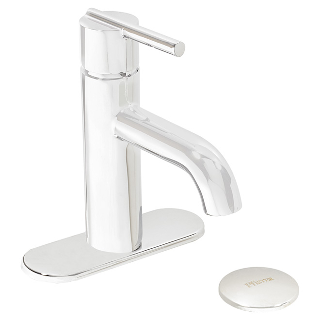 """Fullerton"" Single Handle Lavatory Faucet - Polished Chrome"