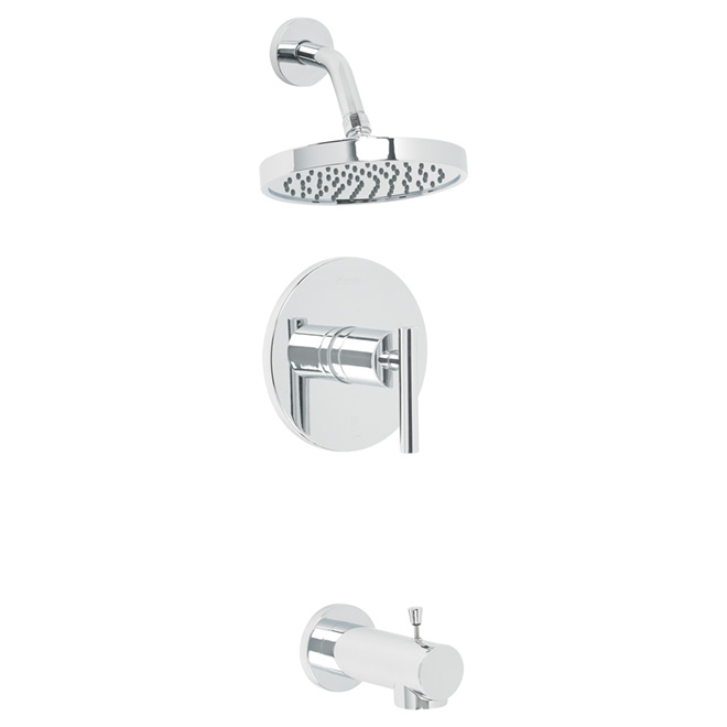 Pfister Fullerton Single Handle Tub And Shower Faucet 8p8 Ftcc Rona