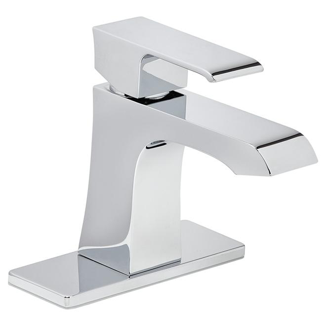 "Bathroom Faucet -1 Handle - 4"" - Chrome"
