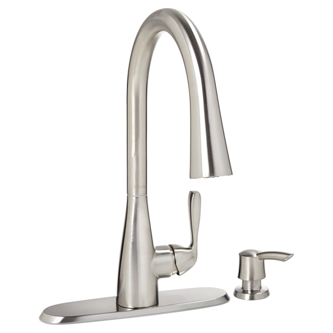 Pfister Lima Pull Out Kitchen Faucet 2 Spray Stainless F5296lms