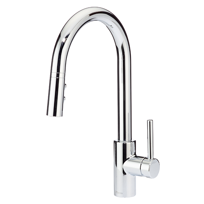 Fullerton Pull Down Kitchen Faucet Polished Chrome