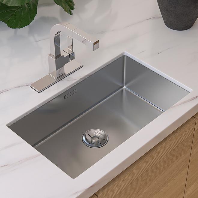Pfister Pull Out Kitchen Faucet Vorena Polished Chrome F5347voc Rona