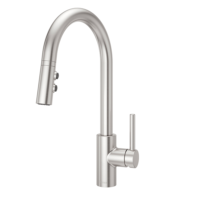 Single-Lever Faucet - Fullerton - Stainless Steel